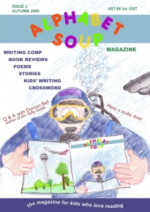 Alphabet Soup issue 2 cover