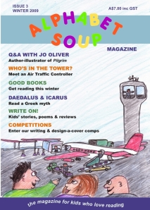 Alphabet Soup winter 2009 cover
