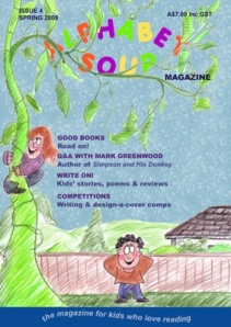 Alphabet Soup's spring 2009 cover