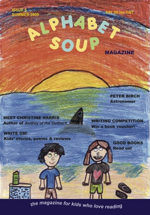 Issue 5 cover, Alphabet Soup