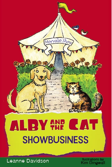 Alby and the Cat: Showbusiness, cover