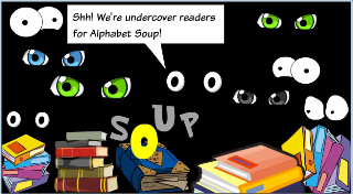 Undercover Readers cartoon © Susan Stephenson 2010