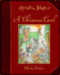 """Quentin Blake's A Christmas Carol (cover)"""
