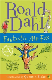 Lewis recommends FANTASTIC MR FOX by Roald Dahl, ill. Quentin Blake.