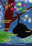 """Alphabet Soup magazine issue 9 cover"""