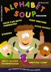 """""""Issue 10 cover Alphabet Soup"""""""