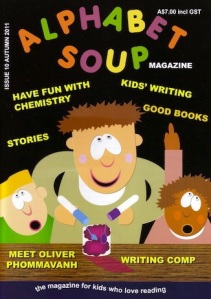 """Issue 10 cover Alphabet Soup"""