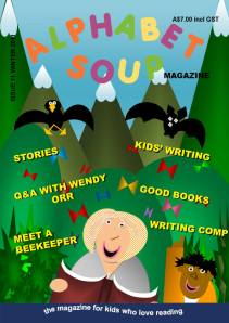 Issue 11 cover, Alphabet Soup magazine