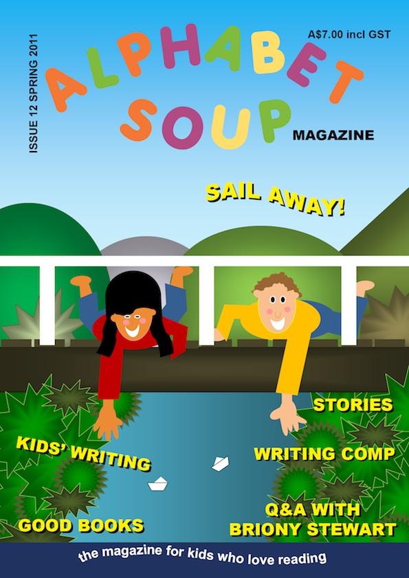 Alphabet Soup magazine, spring 2011