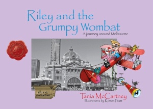 Riley and the Grumpy Wombat (cover)