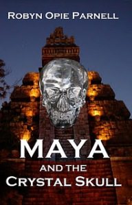 Maya and the Crystal Skull (cover)