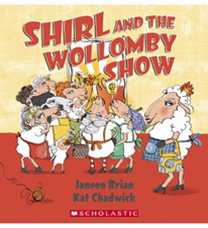 Shirl and the Wollomby Show (cover)