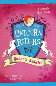 Unicorn Riders (book 1 cover)