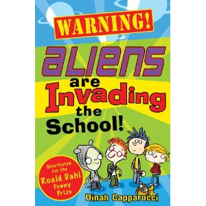 Warning! Aliens are invading the school! (cover)