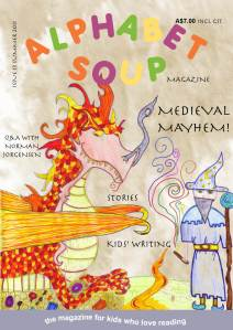 Alphabet Soup Issue 13 cover
