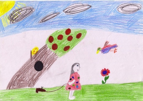 Prudence (by Samantha, Whitfield State School, QLD)
