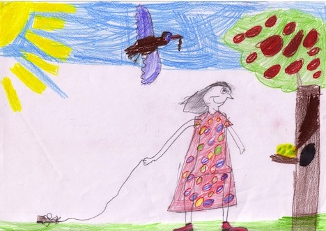 Prudence (by Tabitha, Whitfield State School, QLD)