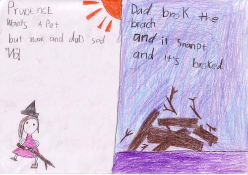 Favourite pages from the book (by Monorom, Whitfield State School, QLD)