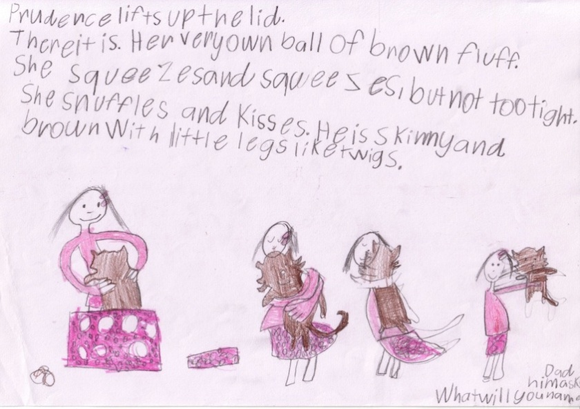A favourite page (by Taylah, Whitfield State School, QLD)