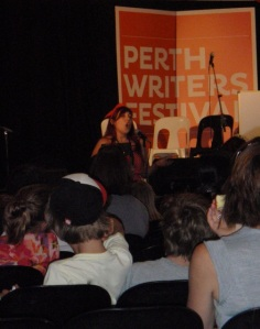 Briony Stewart, Perth Writers Festival 2012