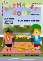 Alphabet Soup issue 14 cover