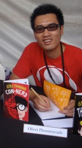 Oliver Phommavanh at Perth Writers Festival