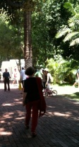Other people wandering about at the Perth Writers Festival