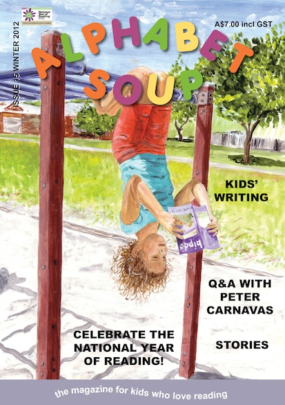 Alphabet Soup issue 15 cover