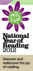 National Year of Reading button