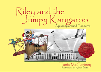 Riley and the jumpy kangaroo book cover