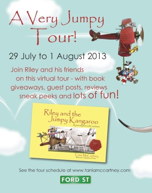 Jumpy Roo Blog Tour