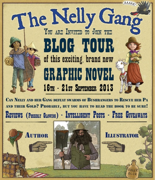 The Nelly Gang Blog Tour banner