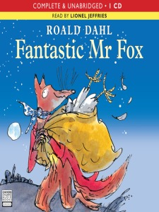 fantastic mr fox audiobook
