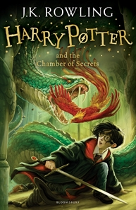 Albie recommends HARRY POTTER AND THE CHAMBER OF SECRETS by JK Rowling.