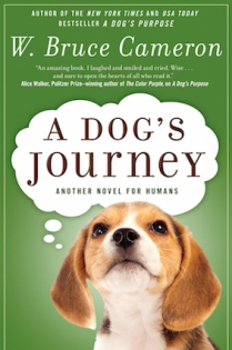 Celine recommends A DOG'S JOURNEY by W Bruce Cameron.