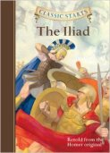 Joseph recommends THE ILIAD, retold from the Homer original by Kathleen Olmstead, illustrated Eric Freeberg.