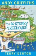 Lewis recommends THE 26-STOREY TREEHOUSE by Andy Griffiths, illustrated by Terry Denton.