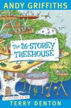 Xavier recommends THE 26-STOREY TREEHOUSE by Andy Griffiths, illustrated by Terry Denton.
