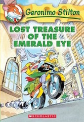 Jake recommends LOST TREASURE OF THE EMERALD EYE by Geronimo Stilton.