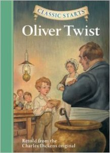 Matilda recommends OLIVER TWIST: retold from the Charles Dickens original by Kathleen Olmstead, illustrated by Dan Andreasen.