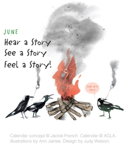 Hear a Story, See a Story, Feel a Story ©-ACLA. Image used with permission.