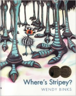 Xavier recommends WHERE'S STRIPEY? by Wendy Binks.