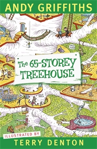 Xavier recommends THE 65-STOREY TREEHOUSE by Andy Griffiths and Terry Denton.