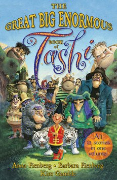 Lewis recommends THE GREAT BIG ENORMOUS BOOK OF TASHI by Anna Fienberg, Barbara Fienberg and Kim Gamble.