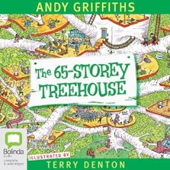 Matilda recommends The 65-Storey Treehouse audiobook by Andy Griffiths, read by Stig Wemyss.