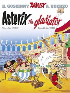 Jake recommends ASTERIX THE GLADIATOR by Gosginny and Uderzo.