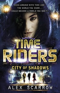 Veronica recommends CITY OF SHADOWS by Alex Scarrow.