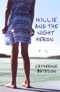 Tess recommends MILLIE AND THE NIGHT HERON by Catherine Bateson.