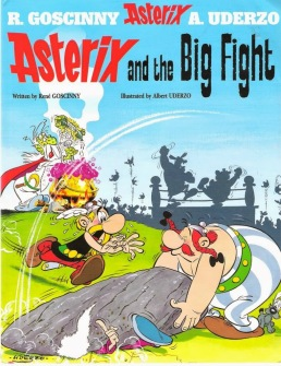 Lewis recommends ASTERIX AND THE BIG FIGHT by R Goscinny, ill. A Uderzo.