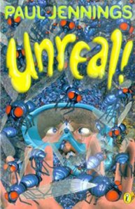 Lewis recommends UNREAL by Paul Jennings.